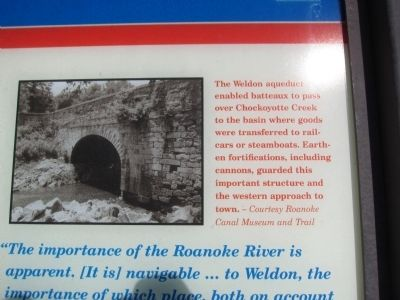 Weldon Aqueduct image. Click for full size.
