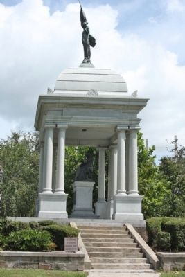 The Monument to Women of the Southern Confederacy southside view image. Click for full size.