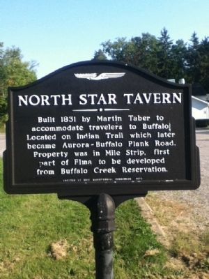 North Star Tavern Marker image. Click for full size.