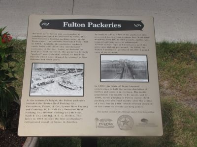 Fulton Packeries Marker image. Click for full size.