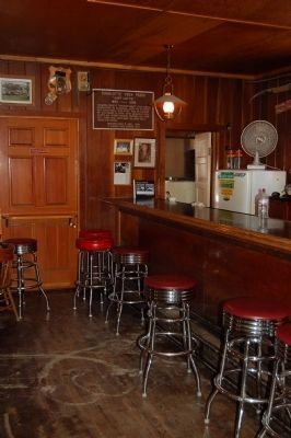 Interior of the Kennedy Meadows Saloon Photo, Click for full size