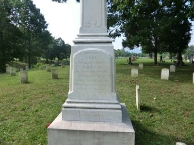 Cemetery Hill Marker Photo, Click for full size