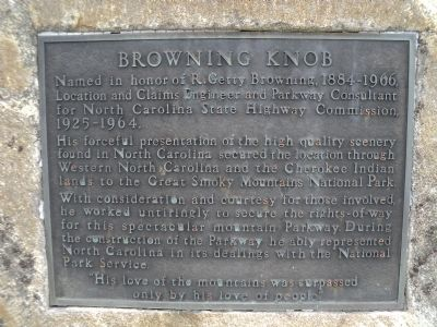 Browning Knob Marker image. Click for full size.