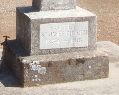 Site St. James Church Marker image. Click for full size.