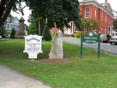 First Court House of Berkshire County Marker image. Click for full size.