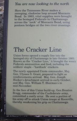 Tennessee River and Moccasin Bend Marker Photo, Click for full size