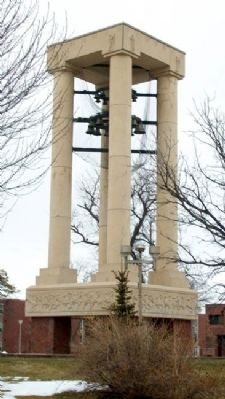 Kearney State College Memorial Carillon Tower Photo, Click for full size