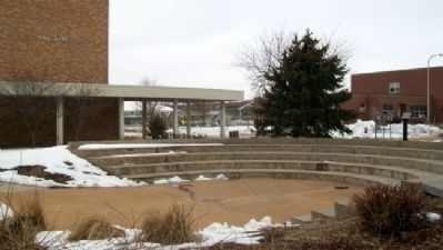Hostetler Amphitheatre and Marker image. Click for full size.