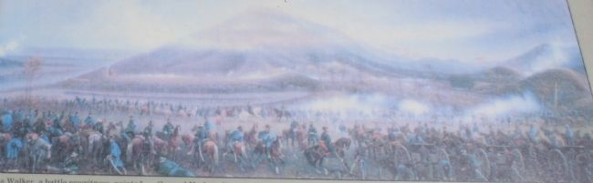 Battle Above the Clouds Marker Photo, Click for full size