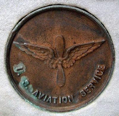 World War Memorial USAS Medallion image. Click for full size.