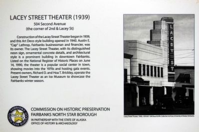 Lacey Street Theater Marker Photo, Click for full size