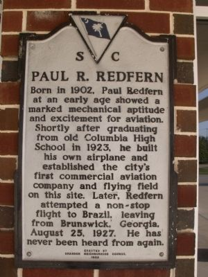 Paul R. Redfern Marker Photo, Click for full size