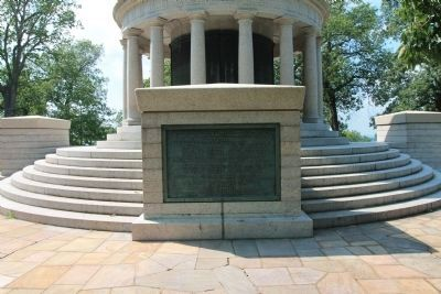 New York Peace Monument Marker image. Click for full size.