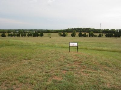 Cavalry Clash Marker Photo, Click for full size
