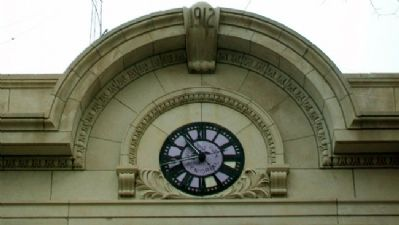 Phillips County Courthouse Clock Photo, Click for full size