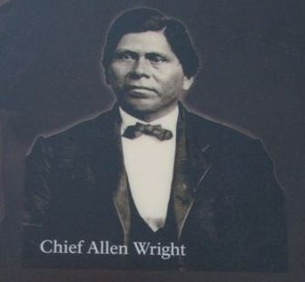 Chief Allen Wright image. Click for full size.