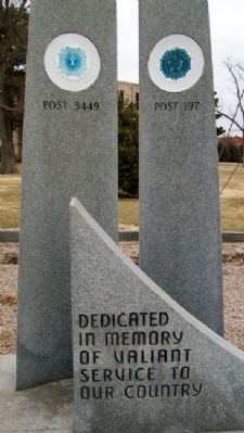 Trego County Veterans Memorial image. Click for full size.