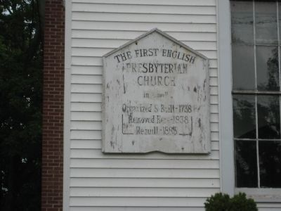 Reaville Church Marker image. Click for full size.