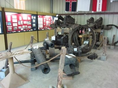 Recovered Cannons and other Artifacts image. Click for full size.