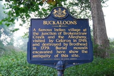 Buckaloons Marker Photo, Click for full size
