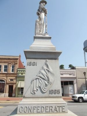 Putnam County Confederate Monument Marker image. Click for full size.