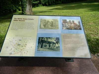 The White Haven Estate: Other Houses Marker image. Click for full size.