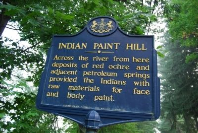Indian Paint Hill Marker image. Click for full size.