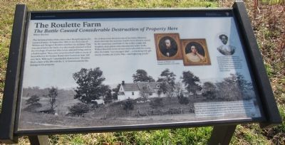 The Roulette Farm Marker image. Click for full size.