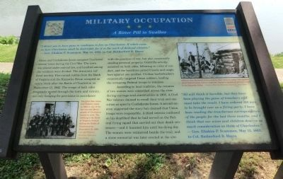 Military Occupation Marker image. Click for full size.
