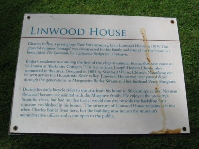 Linwood House Marker image. Click for full size.