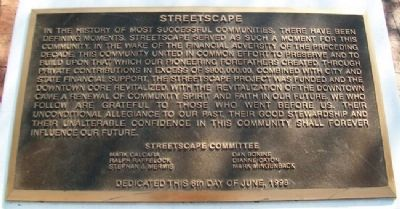 Streetscape Marker image. Click for full size.