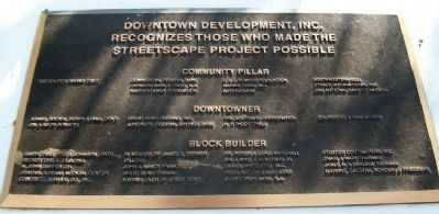 Streetscape Donors Marker image. Click for full size.