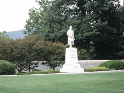 Colonel Thayer Statue on the Plain image. Click for full size.