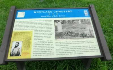 Westlake Cemetery Marker image. Click for full size.