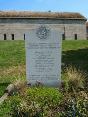 Confederate POWs Marker Photo, Click for full size