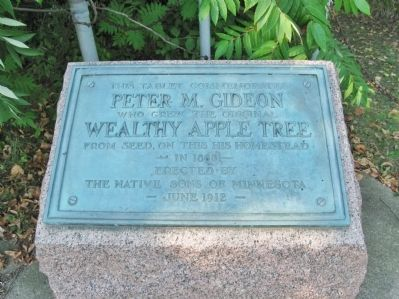 Peter M. Gideon Marker Photo, Click for full size