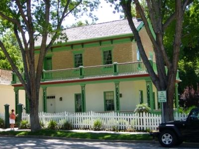 Brigham Young Home Photo, Click for full size