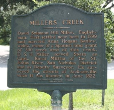 Millers Creek Marker image. Click for full size.