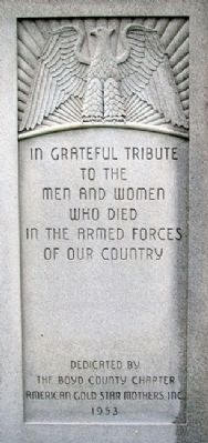 War Memorial Photo, Click for full size