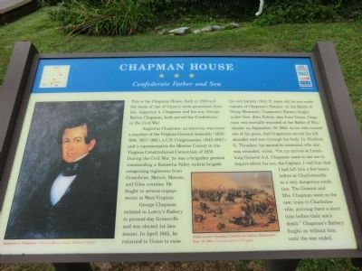 Chapman House Marker image. Click for full size.