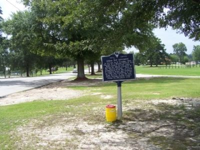 100th Inf Division Marker, looking south image. Click for full size.