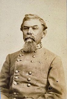 Lt. Gen. William Joseph Hardee, C.S.A. image. Click for full size.