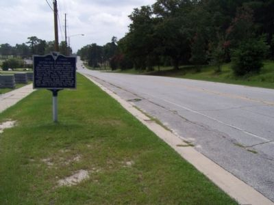 77th Inf Division Marker, looking south Photo, Click for full size