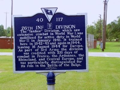 26th Inf Division Marker image. Click for full size.
