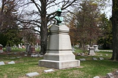 James B. Steedman Memorial Monument Photo, Click for full size