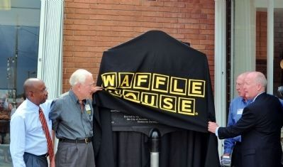 The Waffle House Marker Dedication Photo, Click for full size