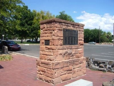 """Utah�s Dixie"" Washington City Marker Photo, Click for full size"