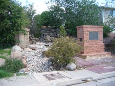 Adair Spring Marker Photo, Click for full size