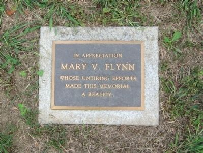 Marker near the Flagpole Photo, Click for full size