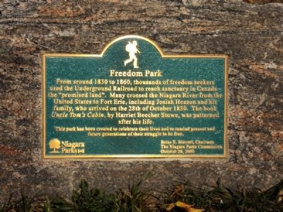 Freedom Park Marker image. Click for full size.